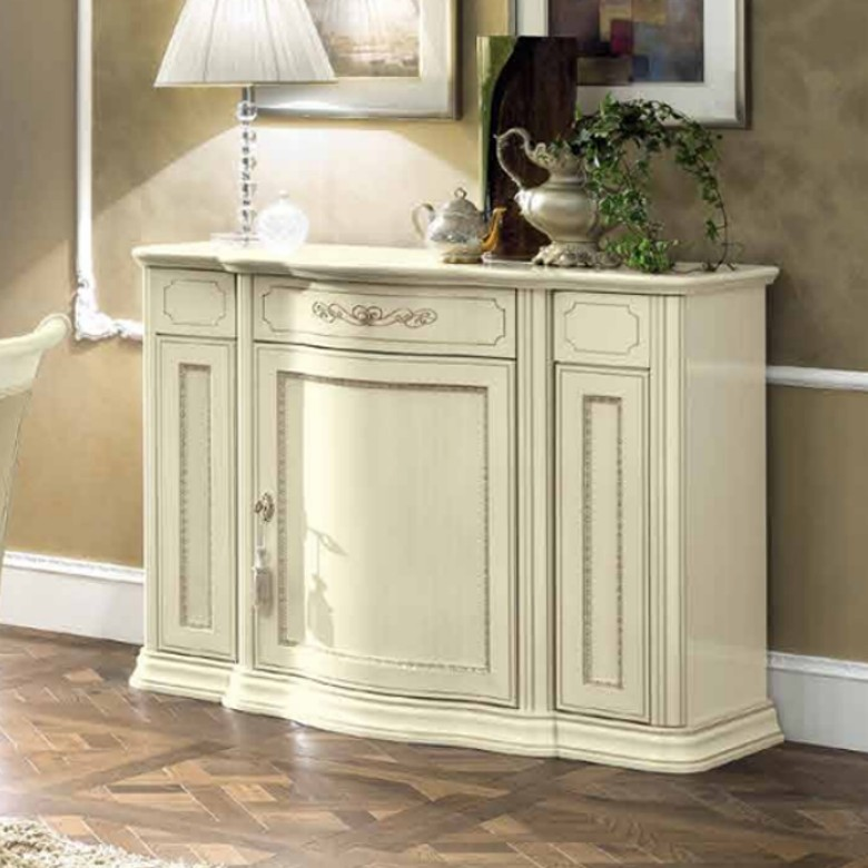Buffet 3-türig mini Torriani Ivory