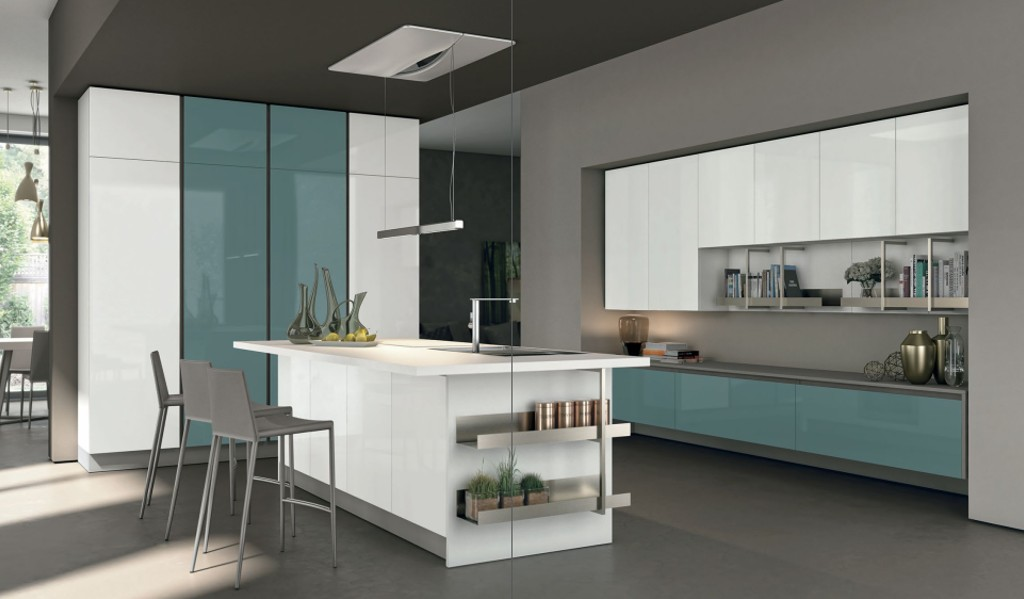 Küchen Modell Clover - Italienische Möbel, Mobili italiani Paratore