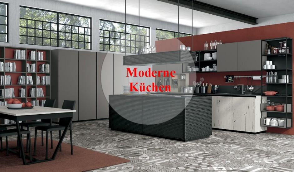 Küche Modern, italienische einbauküchen, einbaüküchen ...