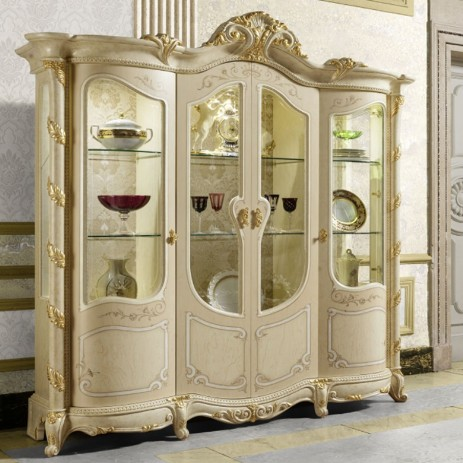 vitrine klassisch italienische m bel mobili italiani. Black Bedroom Furniture Sets. Home Design Ideas